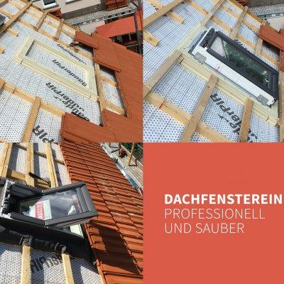 Dachfenstereinbau – so wie es sein soll.